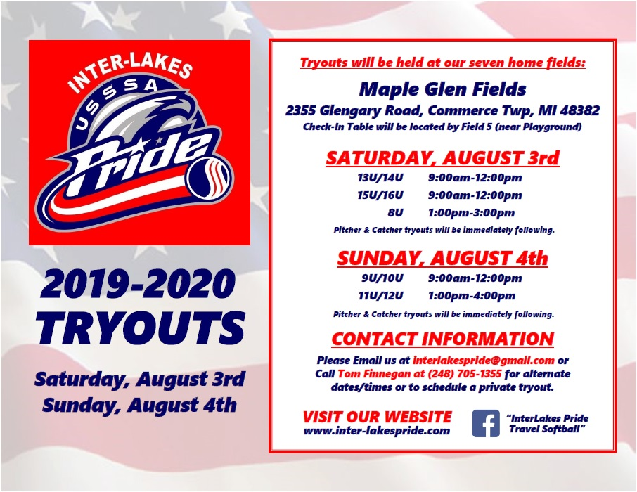 Tryouts Information